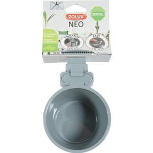 Mangeoire Neo grise 300 ml 9,8x8,2x16,5 cm 419531