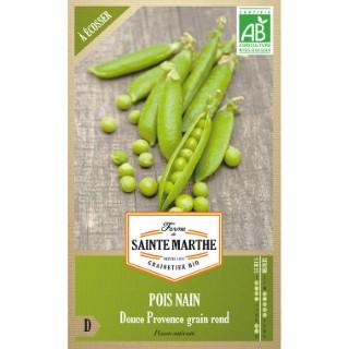 Graines de Pois nain Douce Provence grain rond bio en sachet 419549