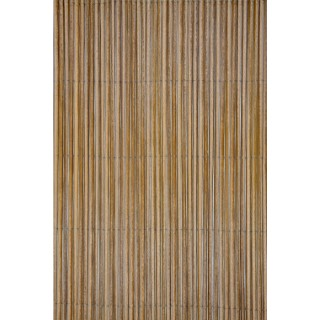 Canisse synthétique Fency Wick coloris marron 300 x 150 cm  419686