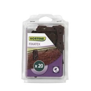 Clip de fixation Fixatex pour Natte marron 34x20 cm 419722