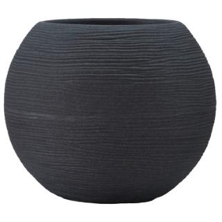 Pot boule Granit gris Ø 50 x 42 cm de 59 L 419874