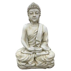Bouddha Kadampa pierre H96 cm 419884