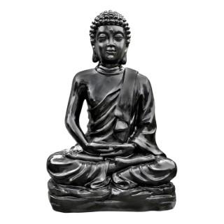 Bouddha Kadampa  béton coulé H96cm 419885
