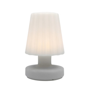 Lampe de table LED Batimex H 21 cm blanc chaud à chargement micro USB 421170