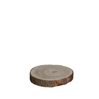 Dessous d'assiette Pia en bois Ø 20 x H 3 cm 421471