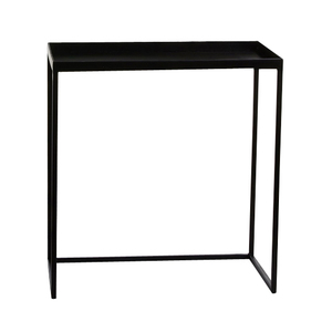 Table gigogne noire petit modèle 42 x 19 x H 45 cm 421721