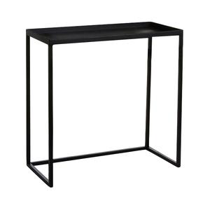 Table gigogne noire moyen modèle 50 x 23 x H 50 cm 421722