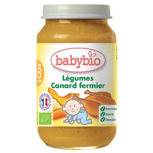 Menu Légumes bio Canard 42516