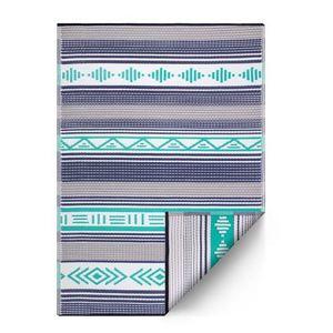 Tapis Ibiza bleu intérieur/extérieur - 120x180 cm 426699