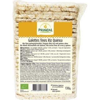 Galettes fines riz quinoa PRIMEAL 130 g 428747