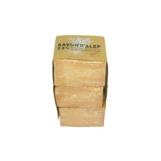 Savon Alep 20% 180 g – Lot de 3 431708