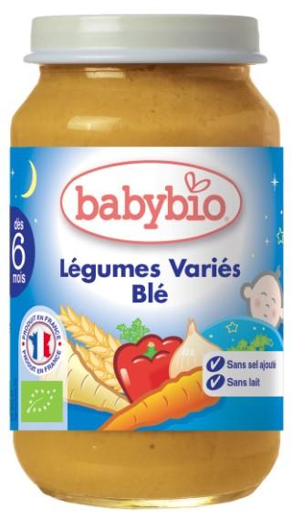 Menu du soir Légumes variés-Blé bio 434872