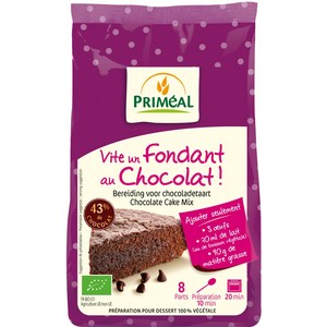 Fondant au chocolat 300 g PRIMEAL 44143
