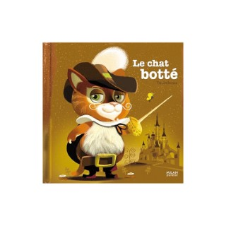 Le Chat Botté Contes et Comptines à Toucher 1 à 3 ans Éditions Milan 442342