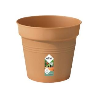 Pot 15cm Green Basics Elho coloris terre cuite 443290