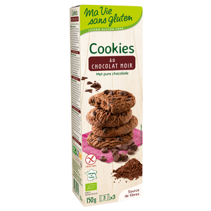 Mini cookies au chocolat 150 g MA VIE SANS GLUTEN 447994