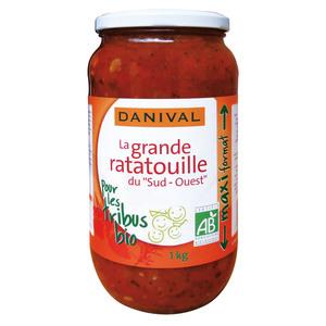 Ratatouille bio 670 g + 20% offerts 448691