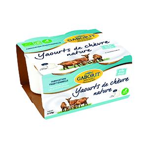 Yaourt de chèvre nature - 4 x 125 g 450584