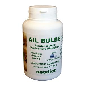 Gélules d'ail bio en boite de 200 unités 450753
