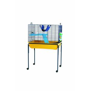 Pied sur roues pour cage Nero 2 De Luxe 80cm 450997