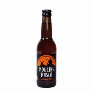 Bière ambrée petite bio 33 cl 453030