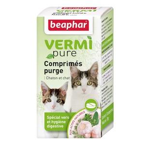 Comprimés purge aux plantes chats Beaphar 453637