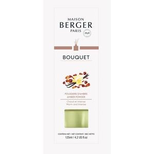 Bouquet parfumé Cube poussière ambre 455376