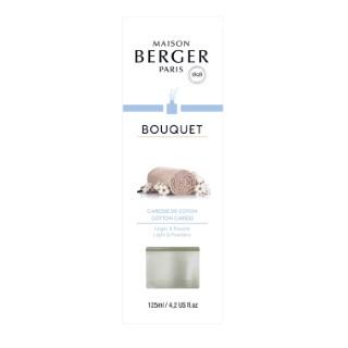 Bouquet parfumé Cube fleur de coton 455409