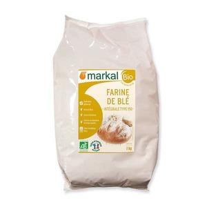 Farine de blé intégrale T150 bio en sachet de 1 kg 456983