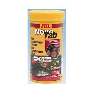 Aliment pour poissons en tablettes Novotab. La boite de 250 ml 460131