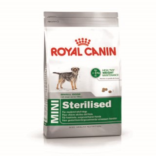 Croquettes Royal Canin Mini sterilised 2 kg 46387