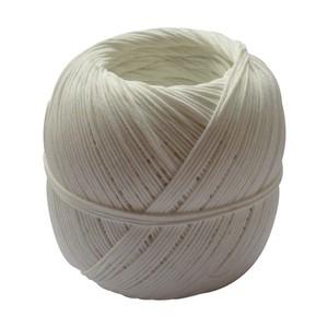 Pelote ficelle naturelle en lin blanchi - 100 gr / 75 m 466533