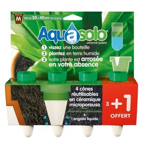 Aquasolo systems vert medium x4 466734