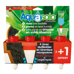 Aquasolo rouge extra large x4 466736