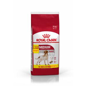 Croquettes Royal Canin Medium adult 15+3 kg 467589