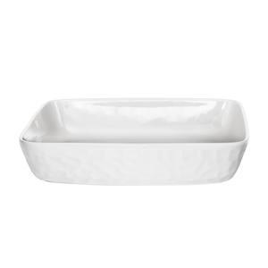 Martello Plat Porcelaine 28x22 cm 471601