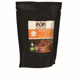 Palets de chocolat noir 66 % Sao Tomé bio en sachet de 150 g 47213