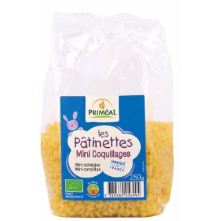 Patinettes mini-coquillages bio - 250 gr 47217