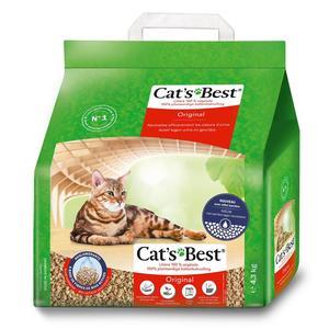 Litière végétale pour chat et furet ökoPlus 10L 477114