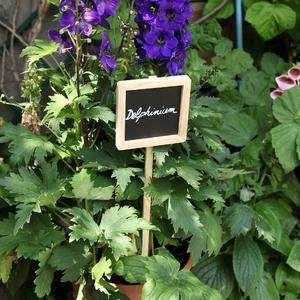 Etiquette à planter en bois et ardoise - 56 cm 477435