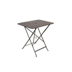 Table de jardin pliante Bistro FERMOB rouille L77xl57xh74 478199