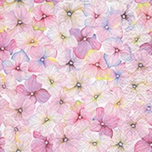 Serviettes x20 3 plis 33x33 cm Small blossom 480324