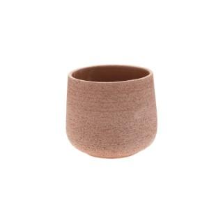Pot bas Basic de 2 L en terre cuite marron Ø 16 x 14 485118