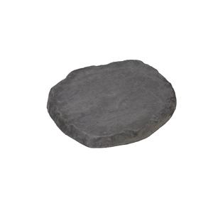 Pas japonais gris en Ardoise structurée 38x32x3,5 cm 486708