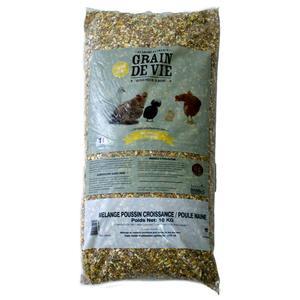 Céréales poussin en croissance et poule naine 10 kg 48995