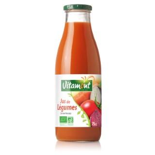 Jus de légumes bio 75 cl 49392