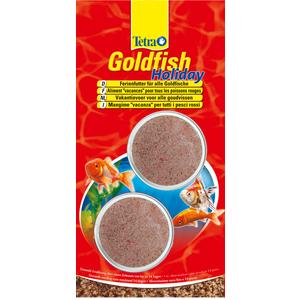 Aliment pour poissons Tetra Goldfish Holiday. Les 2 blocs de 12 g 494384