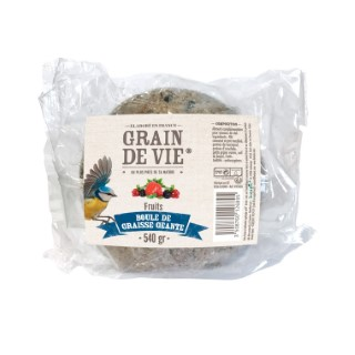 Boule de graisse géante aux fruits sans filet 540 g  495426