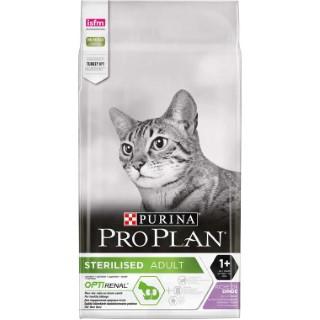 Croquettes pour chat stérilisé à la dinde Pro plan 10 kg 49913