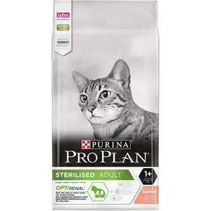 Croquettes pour chat stérilisé au saumon Pro plan 10 kg 49914